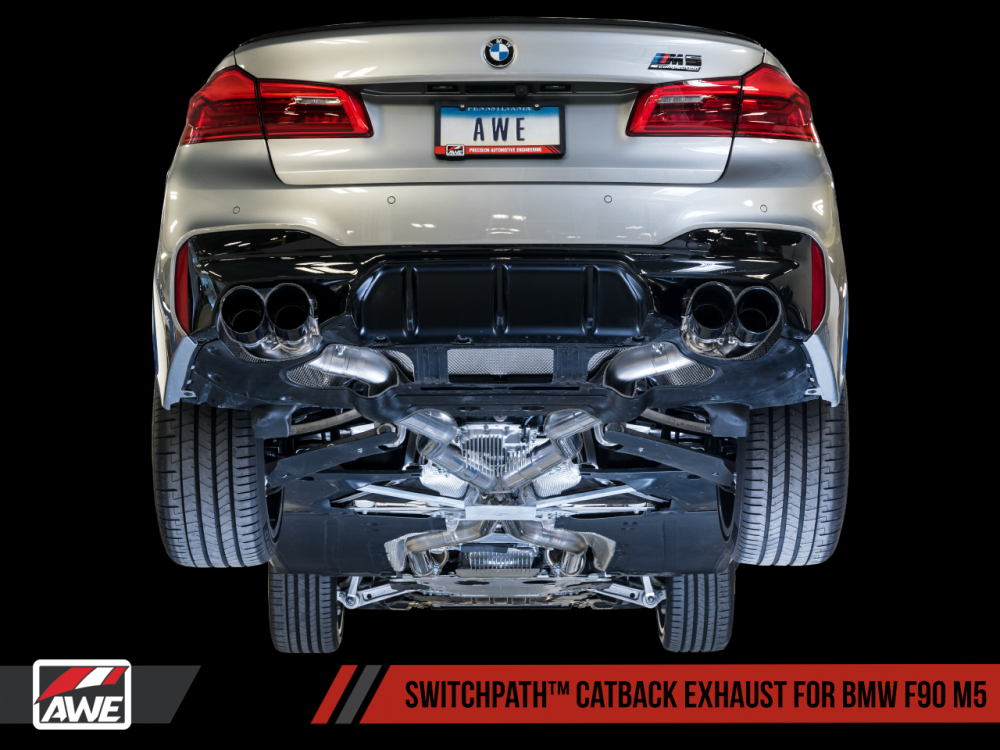 AWE Exhaust Suite for BMW F90 M5